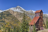 Yankee Girl Silver and Gold Mine, Ouray, Colorado, United States of America, North America Stretched Canvas Print by Richard Maschmeyer