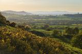 Cotswold Landscape with View to Malvern Hills Reproduction photographique par Stuart Black