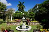 Nevis Botanical Garden, Nevis, St. Kitts and Nevis Fotografisk tryk af Robert Harding