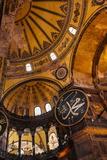 Interior of Hagia Sofia (Aya Sofya), Sultanahmet, Istanbul, Turkey Fotografisk tryk af Ben Pipe