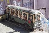Wonderful Graffiti, Valparaiso, Chile Photographic Print by Peter Groenendijk
