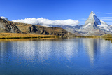 The Matterhorn Reflected in Stellisee Photographic Print by Roberto Moiola