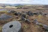 Old Millstones, Stanage Edge, Fine Spring Day Photographic Print by Eleanor Scriven