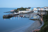 View over Harbour and Castle, Tenby, Carmarthen Bay, Pembrokeshire, Wales, United Kingdom, Europe 写真プリント : スチュアート・ブラック