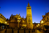 Seville Cathedral and Giralda, Seville, Andalucia, Spain Photographic Print by Carlo Morucchio