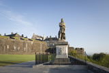 Statue of Robert the Bruce, Stirling Castle, Scotland, United Kingdom Photographic Print by Nick Servian