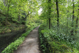 Historic Cromford Canal and Tow Path in Spring Photographic Print by Eleanor Scriven