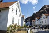 Houses in Fjallbacka, Bohuslan Region, West Coast, Sweden, Scandinavia, Europe Photographic Print by Yadid Levy