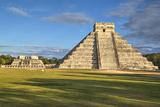 El Castillo (Pyramid of Kulkulcan), Chichen Itza, Yucatan, Mexico, North America Impressão fotográfica por Richard Maschmeyer