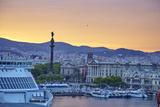 Barcelona Marina, Barcelona, Catalonia, Spain Photographic Print by Mark Mawson