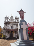 Old Portuguese Church in Grounds of Fort Tiracol, Goa, India, Asia Lámina fotográfica por Yadid Levy