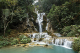 Kuang Si Waterfall, Luang Prabang, Laos, Indochina, Southeast Asia, Asia Photographic Print by Yadid Levy
