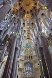 Sagrada Familia, Barcelona, Catalonia, Spain Reproduction photographique par Mark Mawson