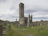 St. Andrews Cathedral Ruins, St. Andrews, Fife, Scotland, United Kingdom Photographic Print by Nick Servian