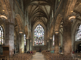 Interior Looking East from the Crossing, St. Giles' Cathedral, Edinburgh, Scotland, United Kingdom Photographic Print by Nick Servian