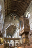 Nave and Organ from the Choir, Dunblane Cathedral, Dunblane, Stirling, Scotland, United Kingdom Photographic Print by Nick Servian
