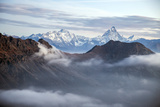 Sunrise on Matterhorn, Natural Park of Mont Avic, Aosta Valley, Graian Alps, Italy Photographic Print by Roberto Moiola