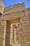 Doorway in the Temple of Khonsu, Karnak Temple, Luxor, Thebes, Egypt, North Africa, Africa Photographic Print by Richard Maschmeyer