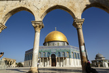 Dome of the Rock Mosque, Temple Mount, UNESCO World Heritage Site, Jerusalem, Israel, Middle East Photographic Print by Yadid Levy