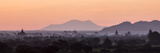 Panoramic View at Sunrise of Temples Photographic Print by Stephen Studd