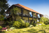 The Historical Mandala House, Blantyre, Malawi, Africa Fotografisk tryk af Michael Runkel