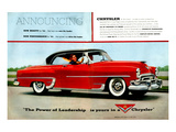 Chrysler Announcing New Beauty Posters