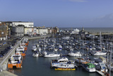 View of the Royal Harbour and Marina at Ramsgate, Kent, England, United Kingdom Reproduction photographique par John Woodworth
