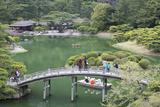 Ritsurin-Koen, Takamatsu, Shikoku, Japan Impressão fotográfica por Ian Trower