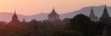 View Towards Old Bagan, with Ananda Temple Pagoda and Thatbyinnyu Temple at Sunset, Bagan (Pagan) Photographic Print by Stephen Studd
