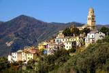 Legnaro Village, Near Monterosso, Cinque Terre, Liguria, Italy, Europe Photographic Print by Carlo Morucchio