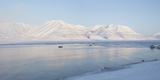 Dirigenten Mountain and Sea Ice Photographic Print by Stephen Studd