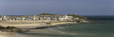 Panoramic Picture of the Popular Seaside Resort of St. Ives, Cornwall, England, United Kingdom Reproduction photographique par John Woodworth