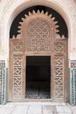 Medersa Ali Ben Youssef (Madrasa Bin Yousuf), Medina, Marrakesh, Morocco Fotografisk tryk af Stephen Studd