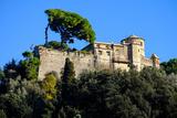 Castello Brown, Portofino, Genova (Genoa), Liguria, Italy, Europe Photographic Print by Carlo Morucchio