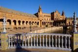 Plaza De Espana, Built for the Ibero-American Exposition of 1929, Seville, Andalucia, Spain Fotografisk trykk av Carlo Morucchio