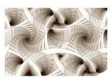 Escher-Like Spiral Stairs Affiches