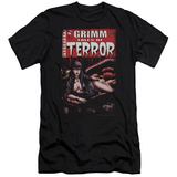 Zenoscope- Terror Cover (Slim Fit) T-shirts