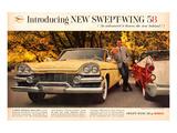 Chrysler Dodge `58 Swept Wing Posters