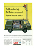 Ford 1964 Roomy Econoline Vans Prints