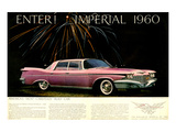 Chrysler Enter! Imperial 1960 Poster