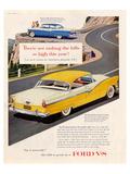 Ford 1956 Victoria V8 Affiches