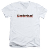 Zenoscope- Wonderland Logo V-Neck V-Necks