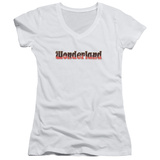 Juniors: Zenoscope- Wonderland Logo V-Neck Womens V-Necks