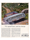 Ford 1964 3½-Speed Box Prints