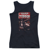 Juniors Tank Top: Zenoscope- Terror Cover Womens Tank Tops