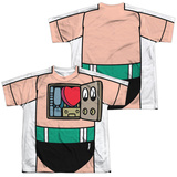 Youth: Astro Boy- Costume Tee (Front/Back) T-Shirt