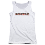 Juniors Tank Top: Zenoscope- Wonderland Logo Womens Tank Tops