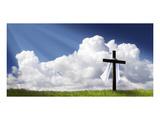 Easter Morning Christ Is Risen Plakater