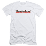 Zenoscope- Wonderland Logo (Slim Fit) T-shirts