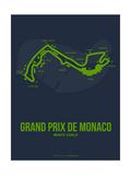 Monaco Grand Prix 2 Metalldrucke von  NaxArt